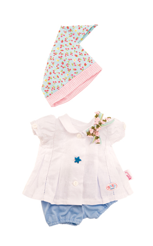 Lees Meer... : Baby Born bandana girls kledingset