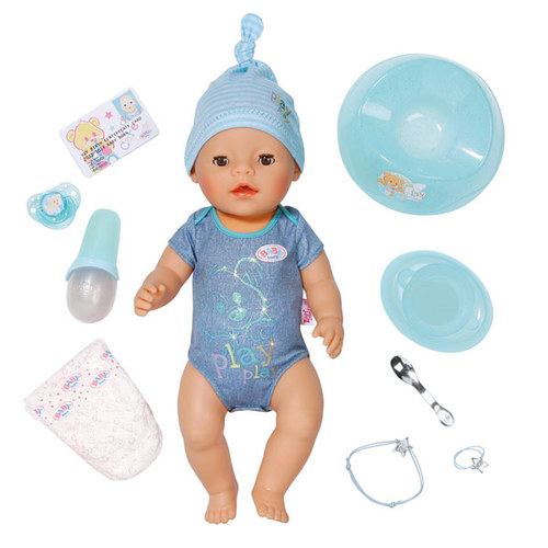 Lees Meer... : Baby Born Boy interactieve pop