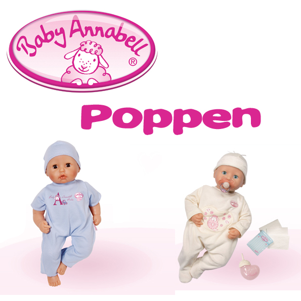 Baby Annabell poppen
