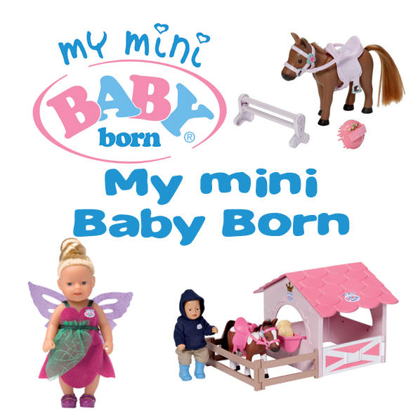 My mini Baby Born
