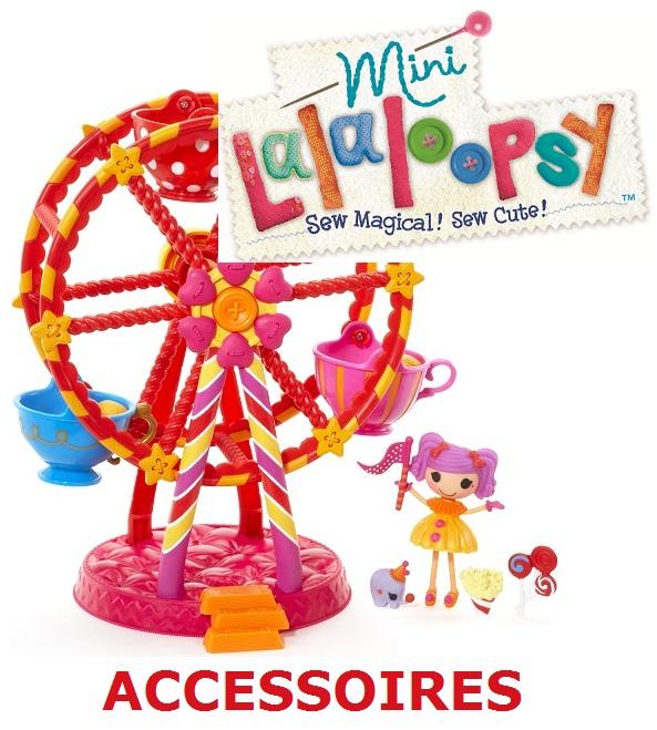 Mini Lalaloopsy accessoires