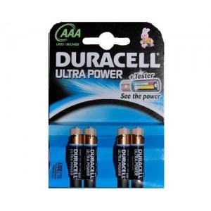 Duracell Ultra Power AAA batterij LR03 blister van 4 stuks