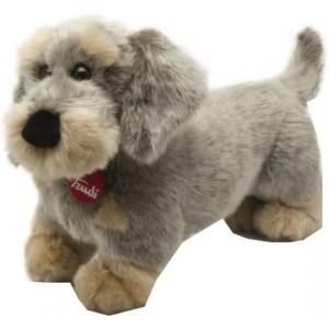 Trudi Knuffel Hond Teckel 25 Cm Grijs