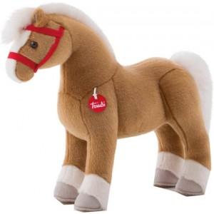 Trudi Knuffel Paard Dustin 52 Cm Bruin