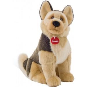 Trudi Knuffel Hond Duitse Herder 45 Cm Bruin