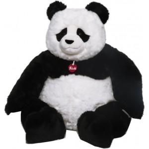 Trudi Knuffelbeer Pandabeer Kevin 80  Cm Zwart / Wit