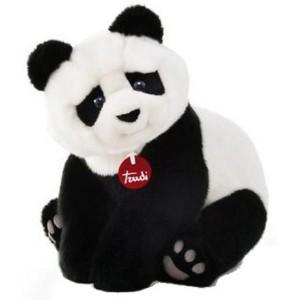 Trudi Knuffelbeer Pandabeer Kevin 34  Cm Zwart / Wit