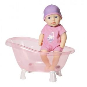 my first Baby Annabell pop met badje