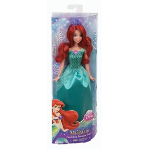 Disney Princess glitter Ariel