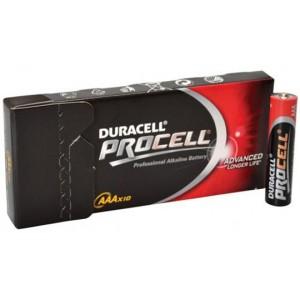 Duracell Procell AAA batterij LR03 doosje van 10 stuks