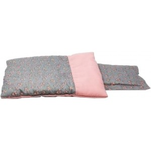 Mini Mommy Bedset Deluxe Grijs 40 cm